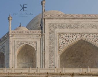 Beauty in the Details | Taj Mahal, Agra, India ~ Indian Culture, monument, agrevana, delhi, architecture, sunrise, golden hour, gardens,