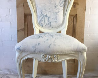 Lovely Shabby Chic Accent Chair Dressing Table Chair