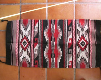 Navajo Indian Designed Wool Rug 20 x 40