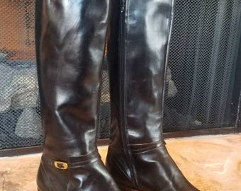 Salvatore Ferragamo Riding Boots