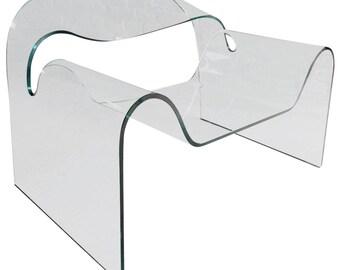 Fabulous Ghost Chair Cini Boeri & Tomu Katayanagi Fiam Italy Glass Unique