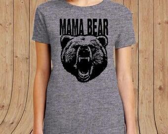Mama Bear T-shirt - mom Shirt - Gift for mom