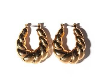 Croissant Earring