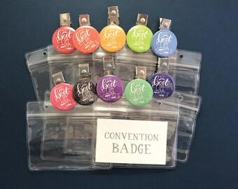 Best Life Ever Convention Badge Holder - jw gifts - 2018 regional convention - jw org - bestlifeever