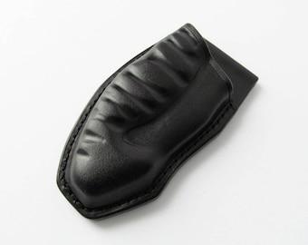 Custom Leather Sheath for Cold Steel Spartan Folding Knife, Handmade