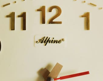 Alpine Quartz Wall Clock