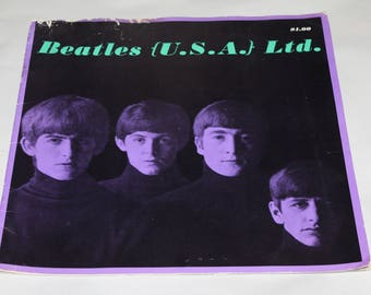 BEATLES U.S.A. Paper Magazine Book, Nice Pictures in it, Please look at Photos, If you need More Please ask.  Collector's Collectibles