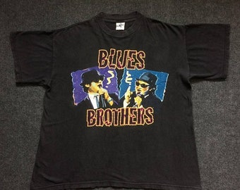 On Sale 28% Vintage The Blues Brothers Promo Short Sleeve Size L T Shirt