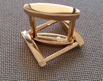 Square bag ring/buckle  27mm x 24mm