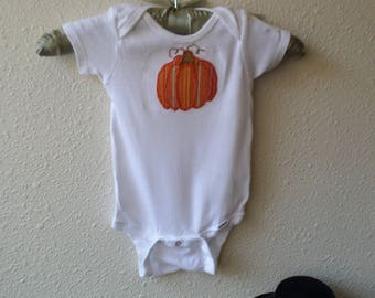 Autumn is A-comin', Punkin Unisex Onesie Available in all Sizes