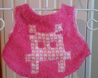 Pink bib apron pattern geek