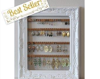 Hanging jewelry storage Etsy