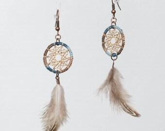 Earrings dreamcatchers