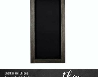 "Rectangle Chalkboard | 12"" x 24"" | Custom Color Chalkboard | Wall Mounted Chalkboard | Standard Collection"