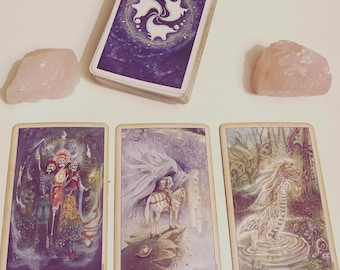 Past Present Future 3 Card- Psychic/Intuitive Tarot Reading