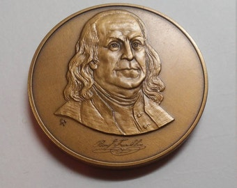 1980 The Franklin Mint Collectors Society Medal