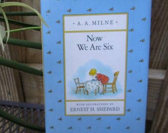 Now We Are Six by A.A.Milne Small Hardcover