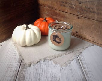 GINGERBREAD scented soy candle, Fall candle, holiday candle, Christmas candle, festive candle, hand  poured, recycled glass tumbler