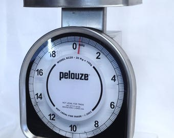 Pelouze Scale for Drafting Measurements for Supplies, Scale for Estimating Weights Adjustable Spring Scale
