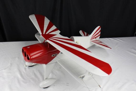 Rare Vintage 1950's Berkley Model Control Line Air Plane Kit Pitt's, McCoy 19 Eg