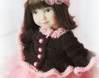 """OOAK outfit for Heartstring Dolls 8""""  by Dianna Effner"""