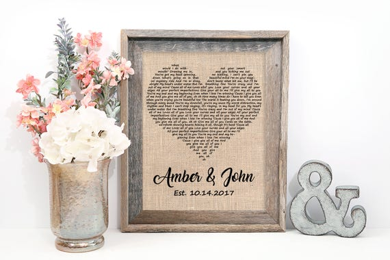 Love song etsy