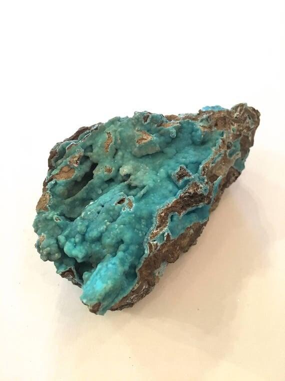 HEMIMORPHITE Healing Gemstone// Raw Hemimorphite// BLUE HEMIMORPHITE// Raw Healing Crystals// Home Decor// Healing Tools// Statement Piece