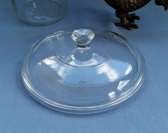 Pyrex Clear Glass Lid 623C - Replacement Lid Fits 023 1.5 Quart Round Casserole