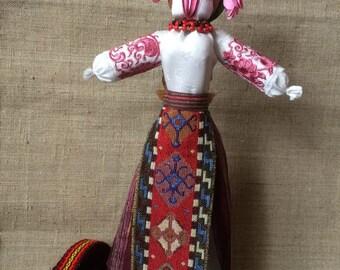 Motanka - handmade ukrainian traditional doll, cloth ethnic doll, rustic ukrainian doll