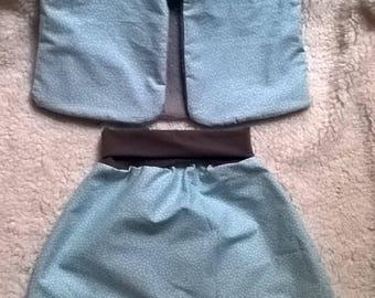 Baby - Shepherd vest and pants set