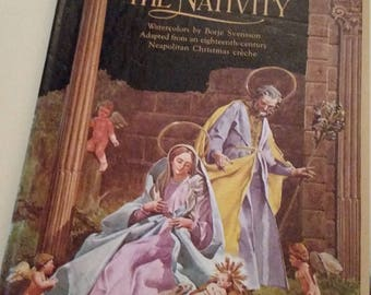 The Nativity Pop Up Vintage Metropolitan Museum of Art Neapolitan Creche DeLaCorte Press 1981 EUC