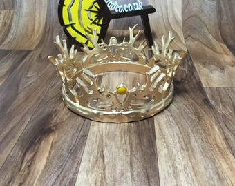 Joffrey Baratheon Game of Thrones crown  1:1 scale Cosplay - 3D Printed - FREE DELIVERY