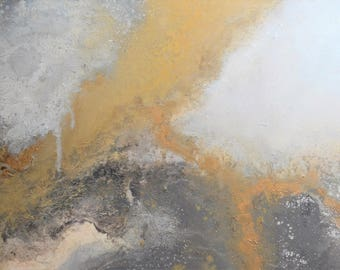 Neutral Landscape Abstract Painting