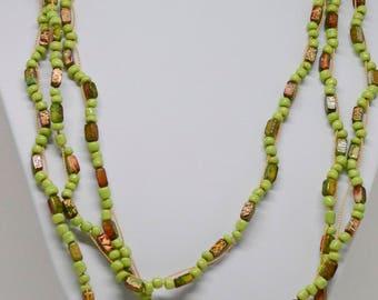 Lovely multi strand necklace
