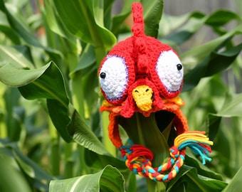 Hei Hei Crochet Chicken Hat, Pua the Pig, Inspired by Moana, Newborn photo prop