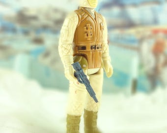 Rebel Soldier In Hoth Outfit Star Wars Action Figure 1980 The Empire Strikes Back