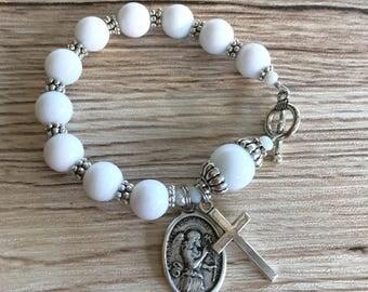 Rosary Bracelet Archangel Gabriel