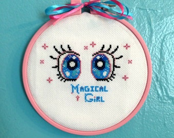 DIGITAL PATTERN - Magical Girl - instant digital download