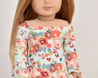Bell Sleeve top 18 inch doll clothes