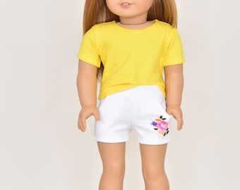 Graphic Shorts 18 inch doll clothes