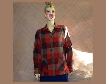 Vintage Ladies Pendleton 49'er Wool Jacket