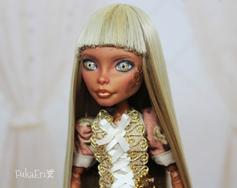 Monster High Custom Repaint Art doll OOAK Robecca Steam