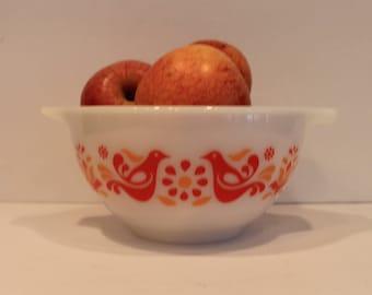 Friendship Birds #441 Pyrex Cinderella Bowl - Nesting Bowls