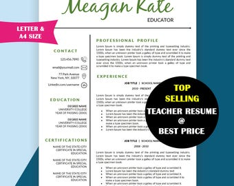 teacher resume template education resume teacher cv resumes educator resume teaching