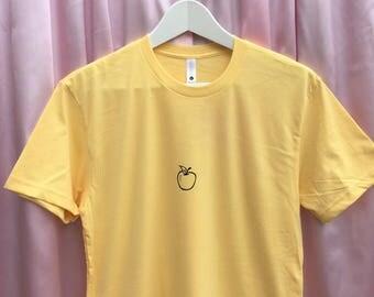 Apple Screen Printed T Shirt