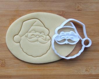 Christmas Santa Claus Cookie Cutter 3D Printed | Holiday Cookie Cutters / Winter Cookie Cutter / Cookies for Santa / Christmas Cookie Cutter