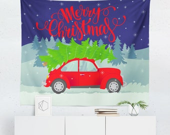 Christmas Wall Tapestry | Christmas Tapestry | Christmas Wall Décor | Christmas Gift | Christmas Wall Art | Christmas Art | Christmas Décor