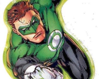 50% SALE The Green Lantern Sticker..DC Comics Decal..Justice League Of America..Comic Book Sticker..Super Hero Sticker.Scrapbooking Die Cuts