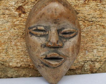 DAN PASSPORT MASK from Cote D 'Ivoire