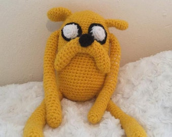 JAKE THE DOG - Handmade Crochet Amigurumi Doll - Adventure Time